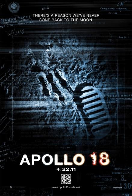 Apollo 18 (2011) poster