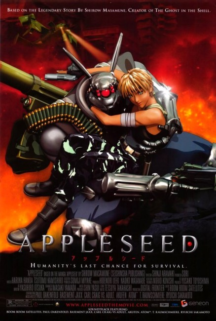 Appleseed (2004) poster