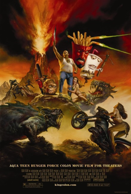 Aqua Teen Hunger Force Colon Movie Film for Theaters (2007) poster