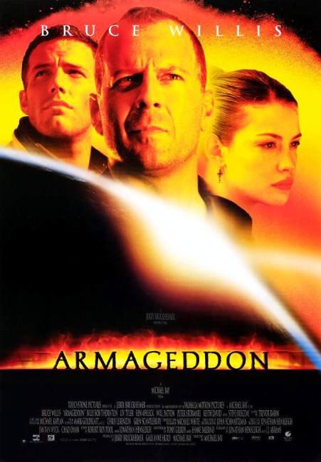 Armageddon (1998) poster