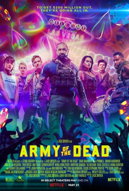 Army of the Dead (2021) poster