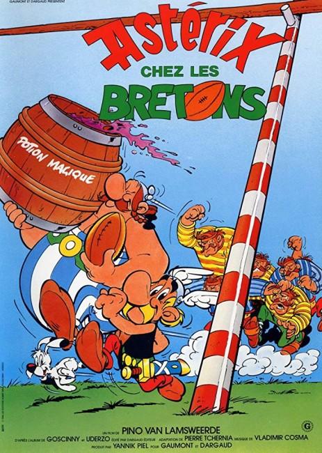 Asterix in Britain (1986) poster