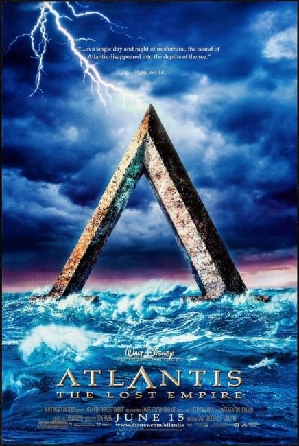 Atlantis: The Lost Empire (2001) poster