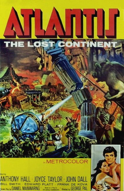 Atlantis the Lost Continent (1961) poster
