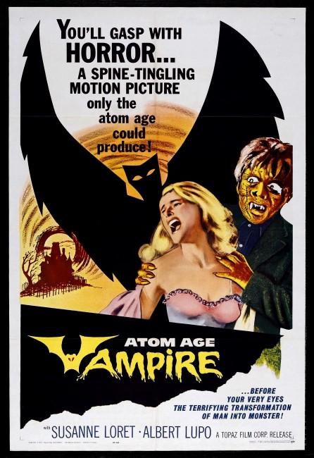 Atom Age Vampire (1960) poster