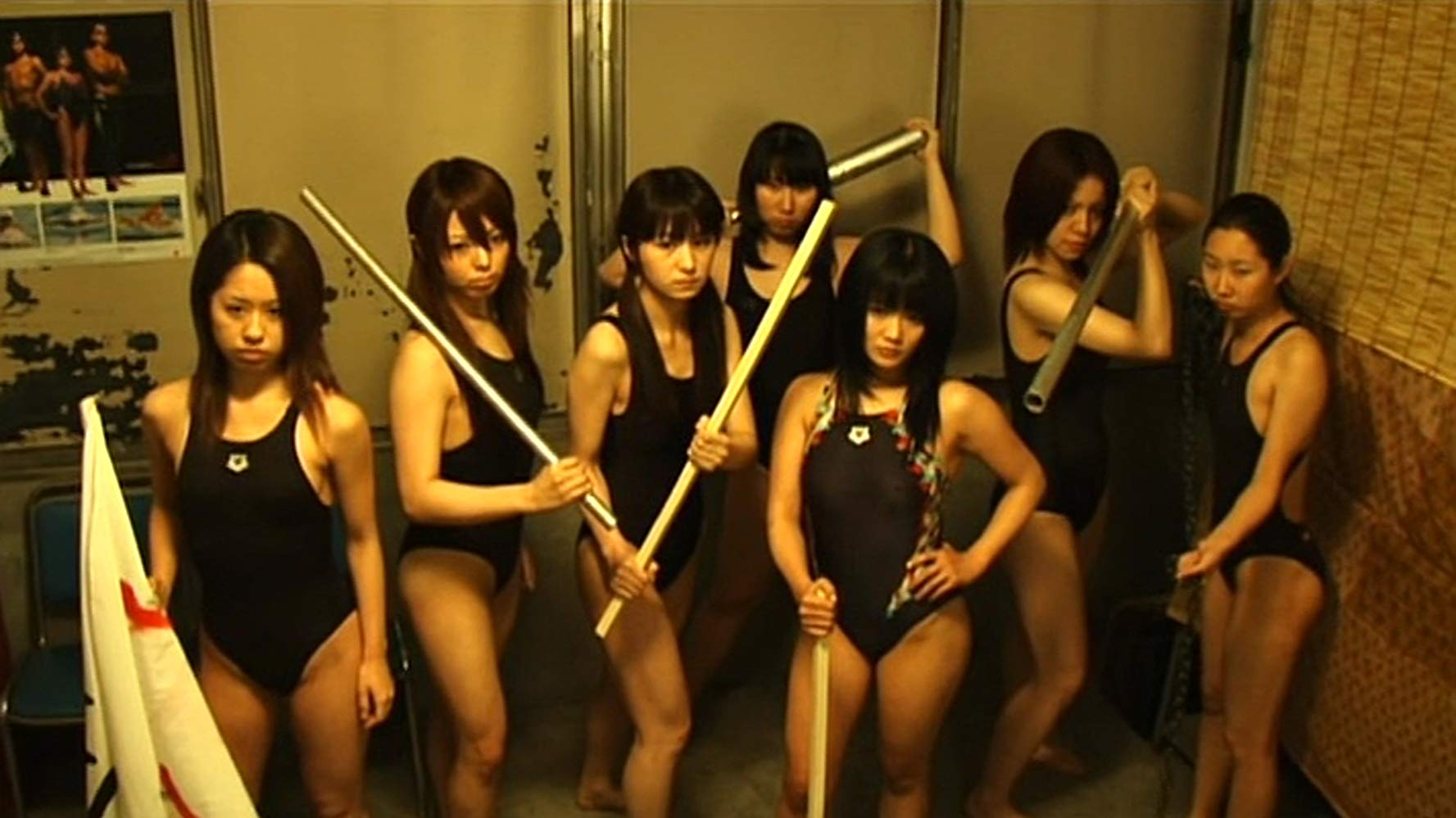 Pelicula Porno Majorettes attack girls' swim team vs. the undead (2007) - moria