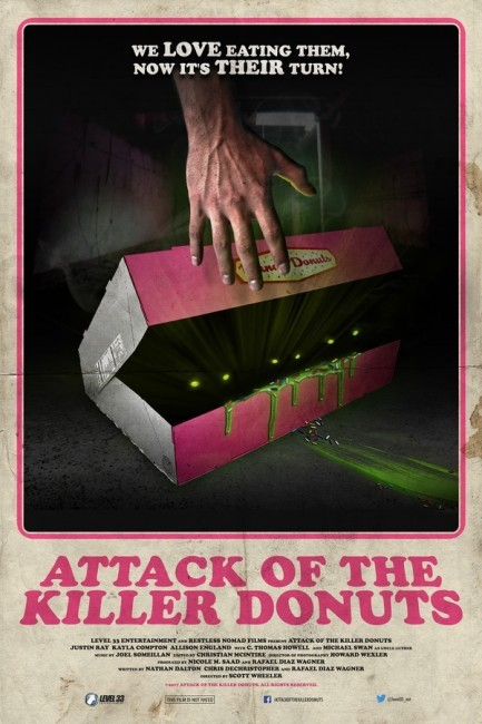 Attack of the Killer Donuts (2016) poster
