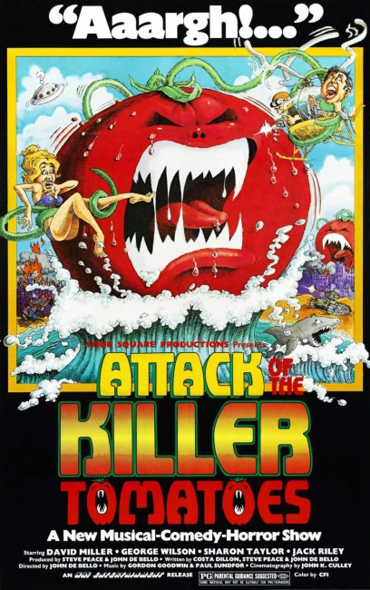 Attack of the Killer Tomatoes (1978) poster