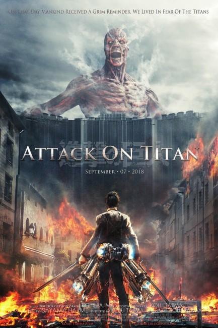 Attack on Titan (2015) poster