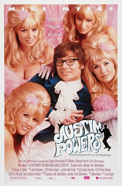 Austin Powers, International Man of Mystery (1997) poster