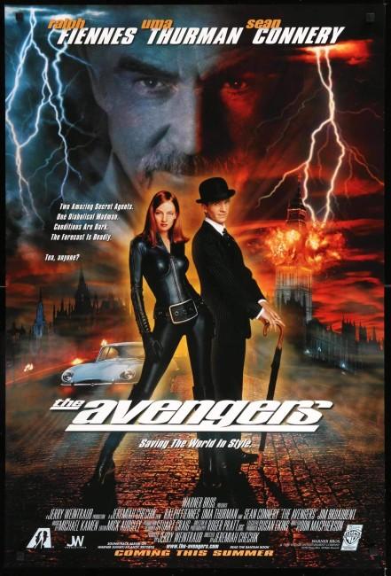 The Avengers (1998) poster