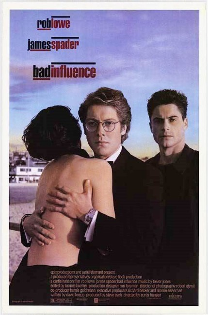 Bad Influence (1990) poster