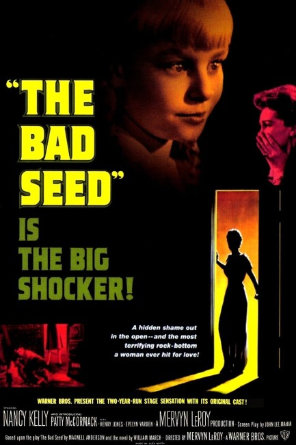 The Bad Seed (1956) poster