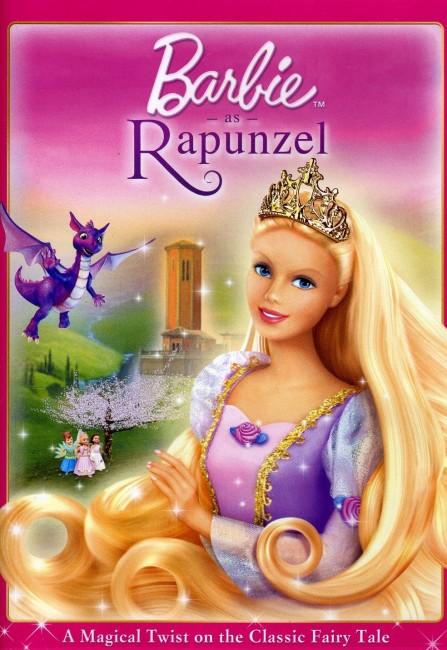 Barbie as Rapunzel (2002) poster