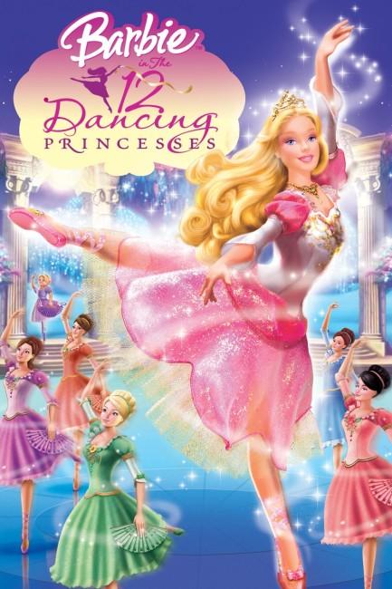 Barbie in The 12 Dancing Princesses (2006) poster