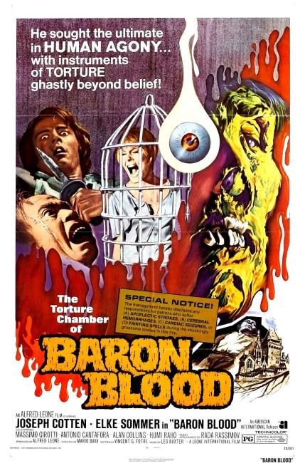 Baron Blood (1972) poster