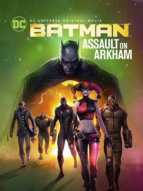 Batman Assault on Arkham (2014) poster