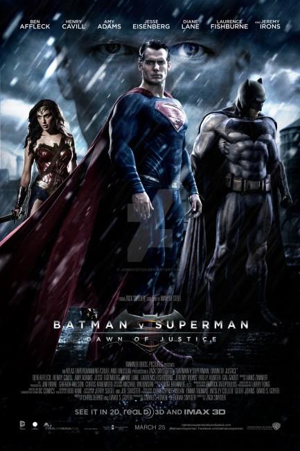 Batman V Superman Dawn of Justice (2016) poster