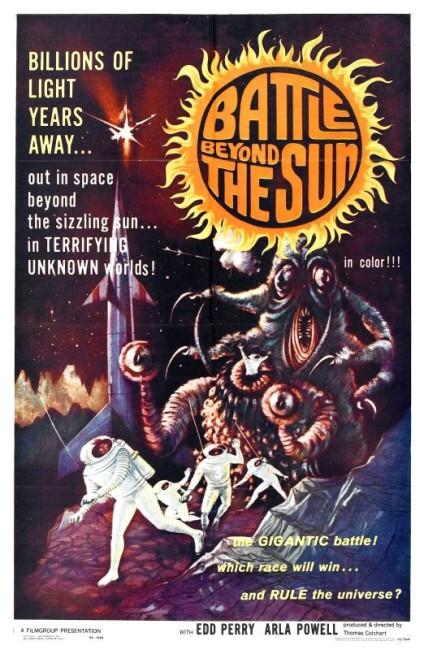Battle Beyond the Sun (1963) poster