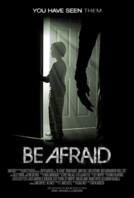 Be Afraid (2017) poster