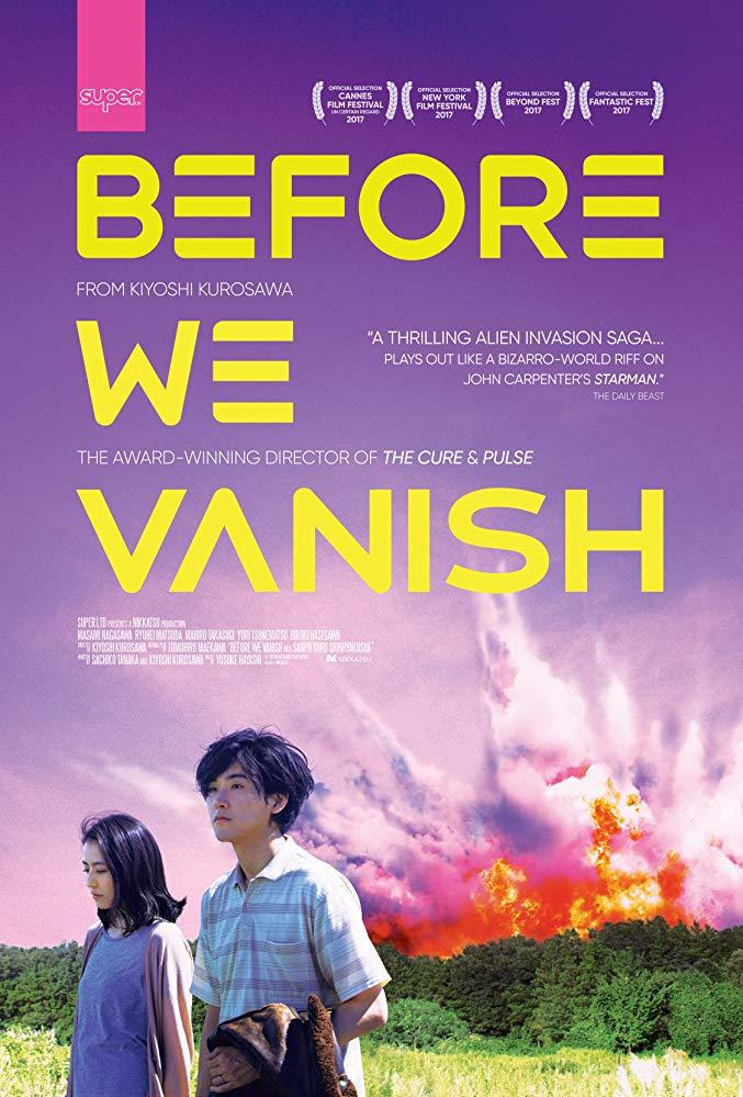 Before We Vanish (2017) poster