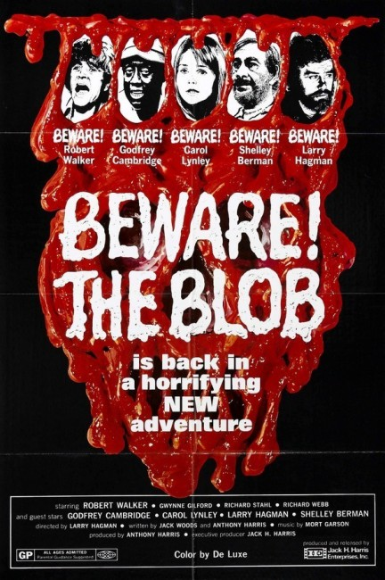 Beware! The Blob (1972) poster