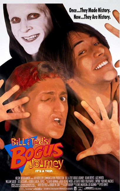 Bill and Ted's Bogus Journey (1991) poster