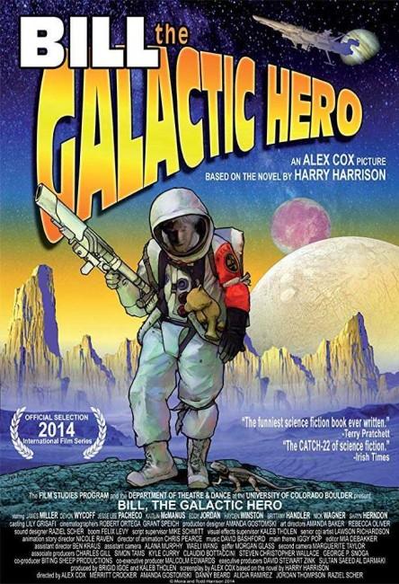 Bill the Galactic Hero (2014) poster