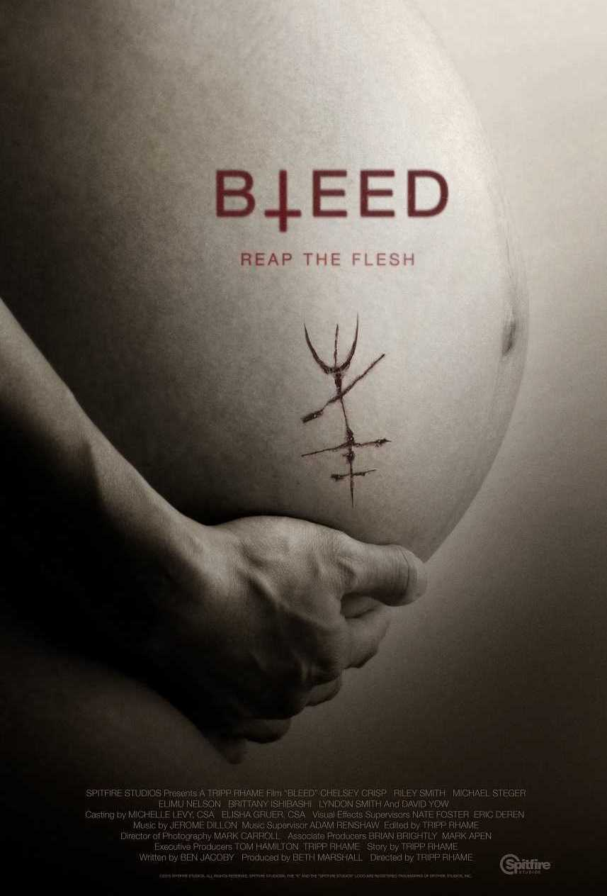 Bleed (2016) poster