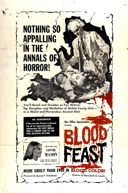 Blood Feast (1963) poster