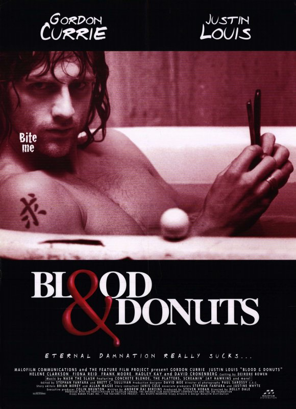 Blood and Donuts (1995) poster