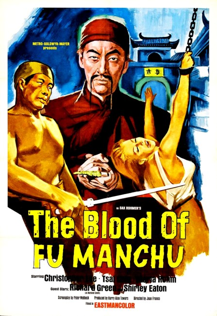 The Blood of Fu Manchu (1968) poster