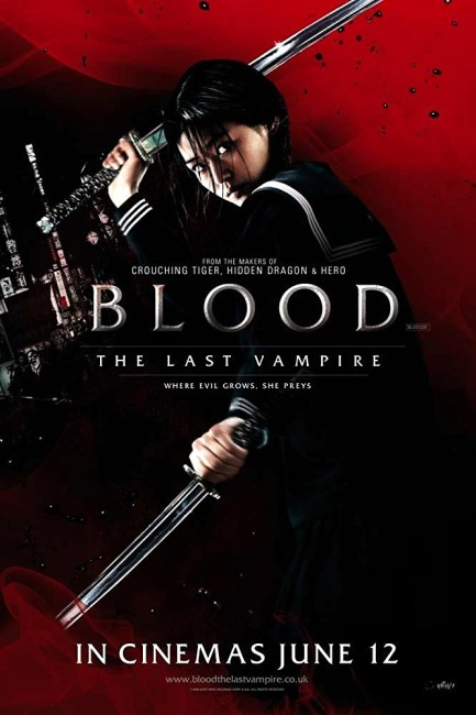 Blood: The Last Vampire (2009) poster