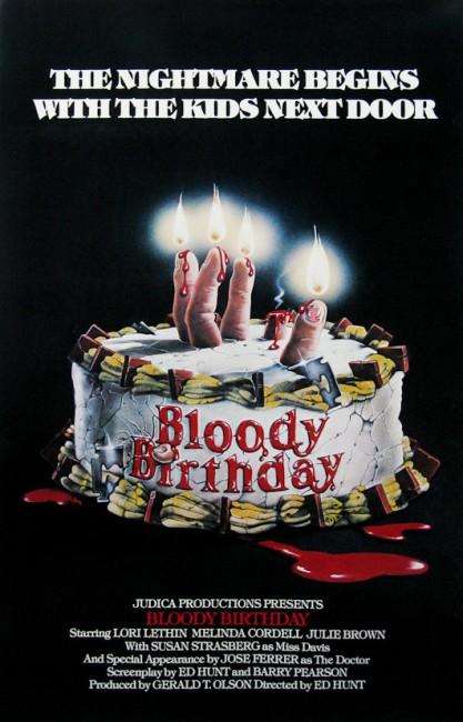 Bloody Birthday (1981) poster
