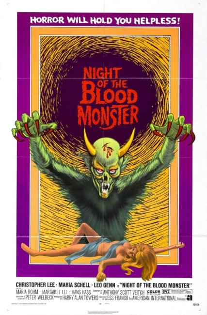 The Bloody Judge/Night of the Blood Monster (1970) poster