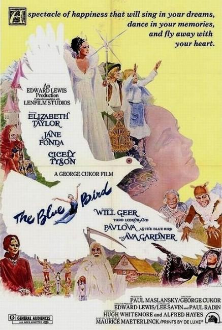The Blue Bird (1976) poster