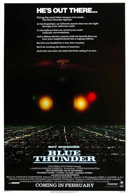 Blue Thunder (1983) poster