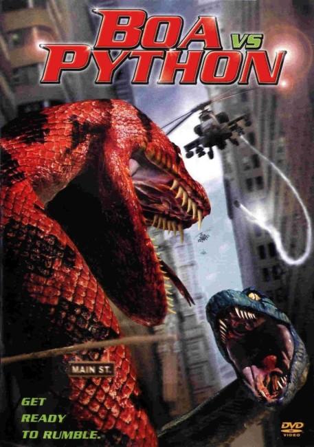 Boa vs Python (2004) poster