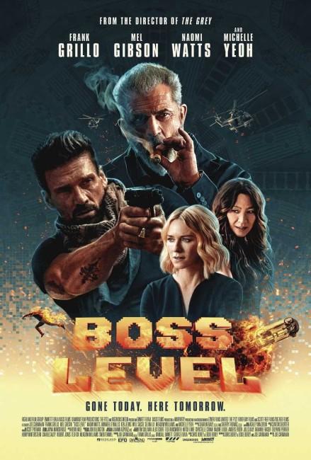 Boss Level (2020) poster