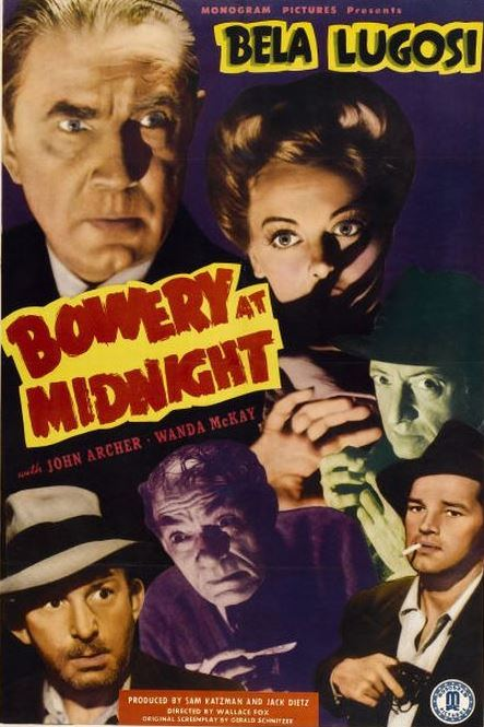 Bowery at Midnight (1942) poster
