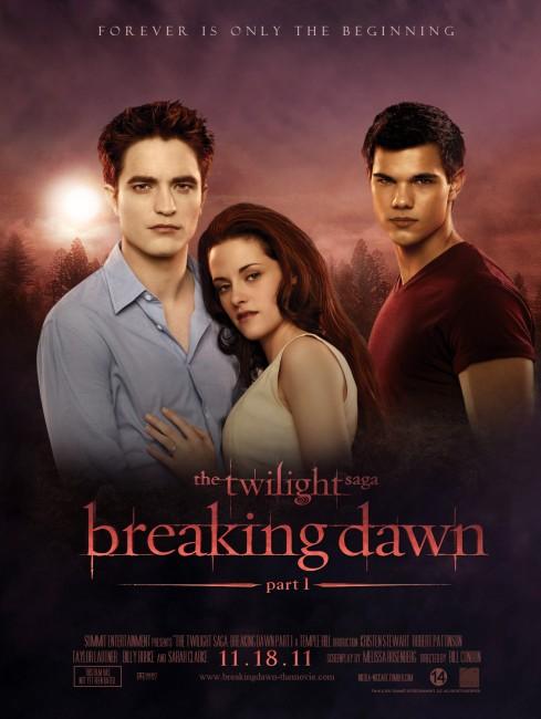 Breaking Dawn Part 1 (2011) poster