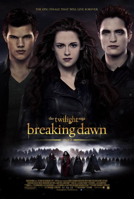 Breaking Dawn Part Two (2012) poster