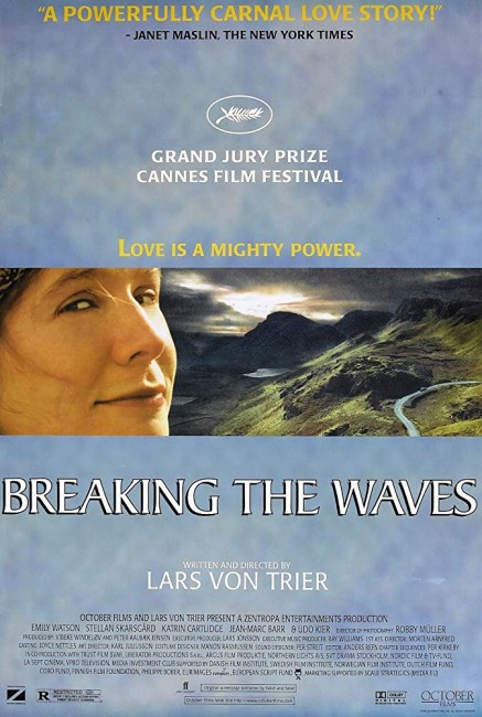 Breaking the Waves (1996) poster