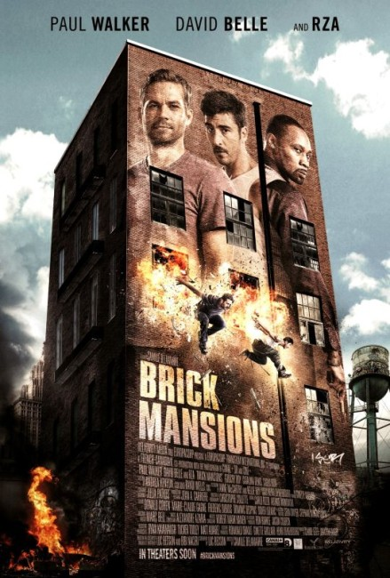 Brick Mansions (2014) poster
