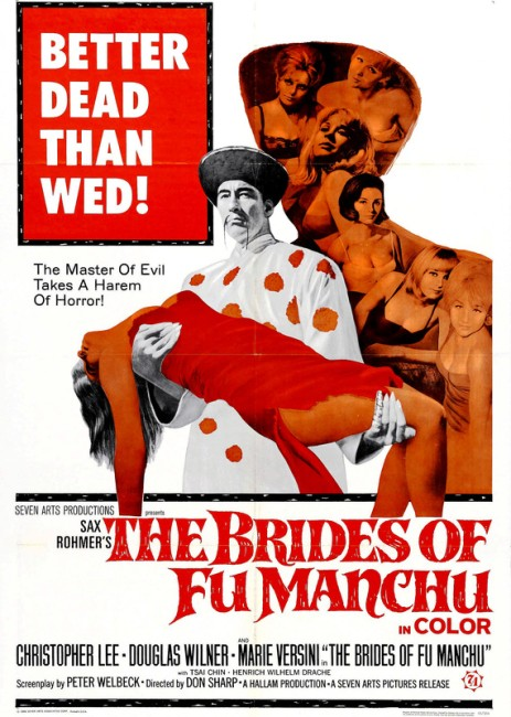 The Brides of Fu Manchu (1966) poster