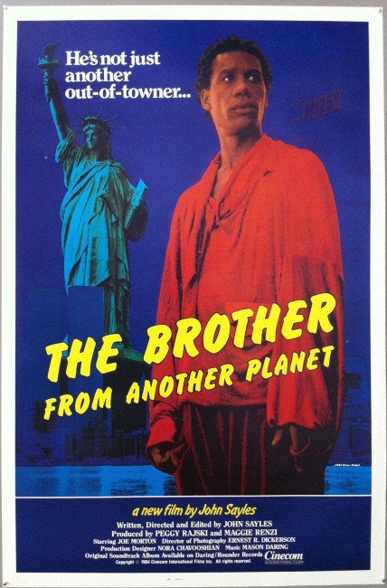 The Brother from Another Planet (1984) poster