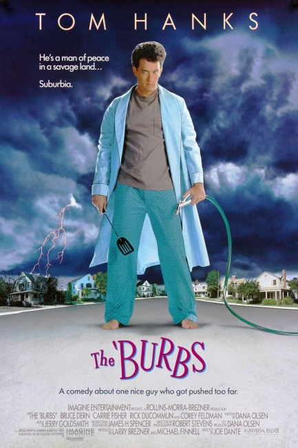 The 'Burbs (1989) poster