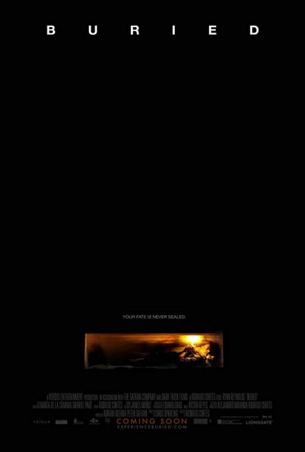 Buried (2010) poster