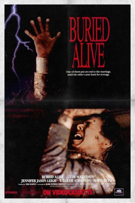 Buried Alive (1990) poster