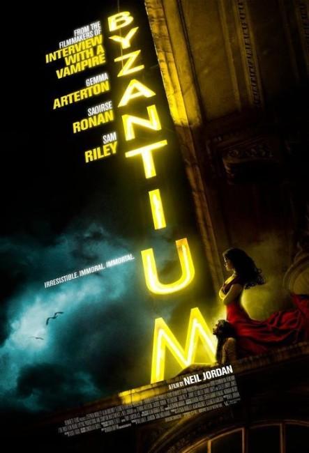 Byzantium (2012) poster